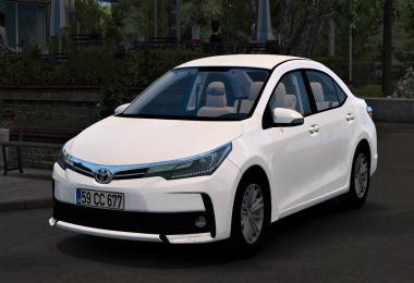 [ATS] Toyota Corolla 2018 v1.2 1.37.x