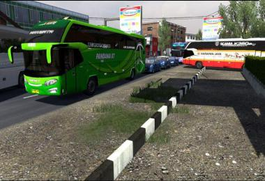 Busses in Traffic Pack v2.7.1 by FPS & Ryzen 1.37.x