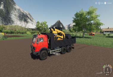 Construction Tipper For MB Agrar HKL v0.5