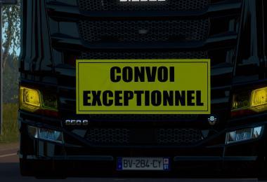 Convoi Exceptionnel Panel 1.36.x