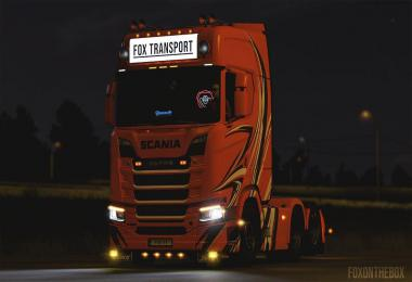 Dynamic Blinkers for Scania NextGen R/S 1.37