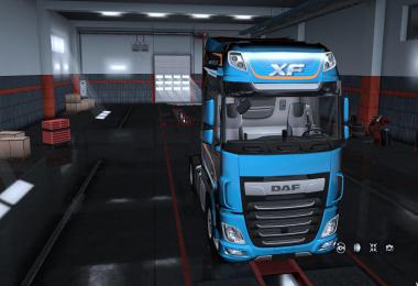 Exterior view reworked for DAF XF euro 6 by Schumi