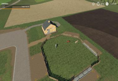 Small Horse Barn and paddock beta