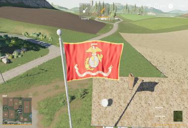 FS19 USMS Flag v1.0.0.0