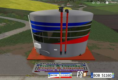 FS19 Multifruit Liquids Silo By BOB51160 v2.0