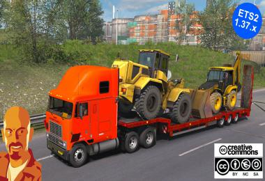 INTERNATIONAL 9600 REWORKED ETS2 1.37.x