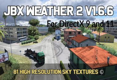 JBX Weather 2 for ATS-ETS2 v1.6.6.1