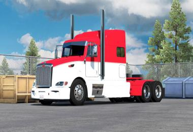 Paintable two tone skin for Peterbilt 386 v1.0