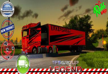 Refrigerated trailer TOPRUN v1.5