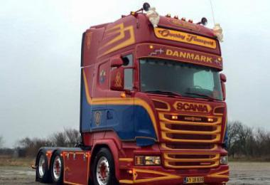 Scania Jan Van Duijn R560 V8 Sound v13.0