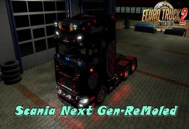 Scania Next Gen-ReMoled v1.8.5