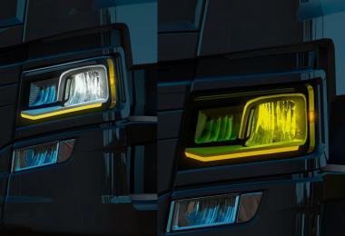 Scania NTG Orange DRL 1.37.x