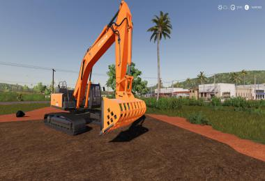 Screen Bucket For Hitachi Excavators v0.6