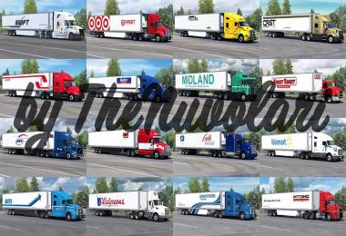 SCS 53FT TRAILER SKIN PACK v1.3 ATS 1.37