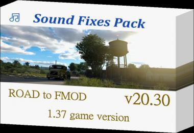 Sound Fixes Pack v20.30 1.37