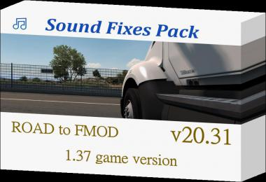 Sound Fixes Pack v20.31.2 - ATS + ETS2 1.37