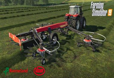 The Kverneland & Vicon Equipment Pack v1.0