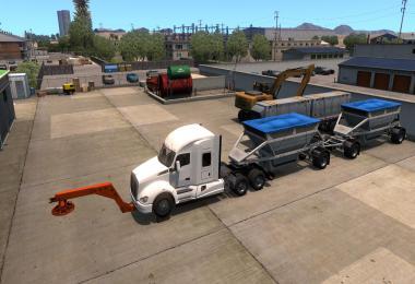 Tow truck broken trailer 1.37