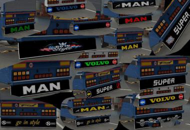 ULTRA MEGA PACK mudflaps for ownable trailer 1.37