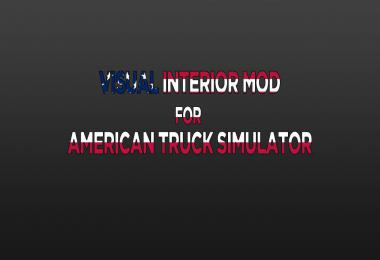 Visual Interior Mod v1.0 for ATS 1.37.x
