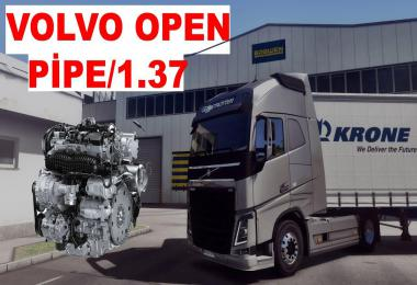 Volvo Fh16 Open Pipe Engine Sounds 1.37.x