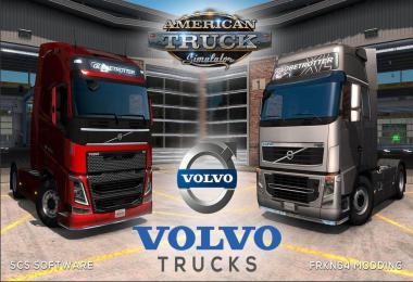 VOLVO FH16 Trucks Mod by Frkn64 v5.1