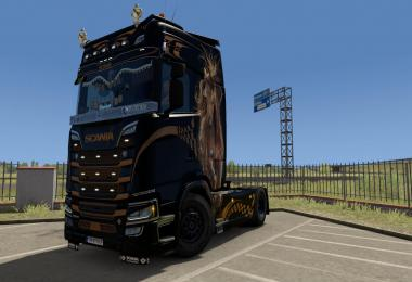 Wild Paintjob for Scania S Highline 1.37
