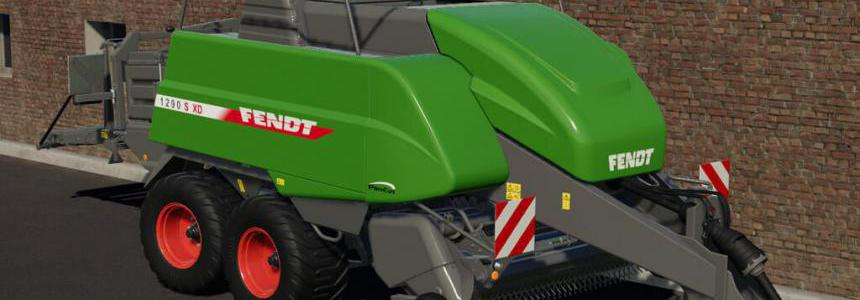 Fendt 1290 SXD Bale Machine v1.0
