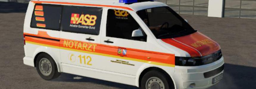 ASB emergency doctor VW T5 by SoSi-Modding v1.0