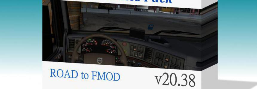 [ATS] Sound Fixes Pack ATS v20.38 for 1.38