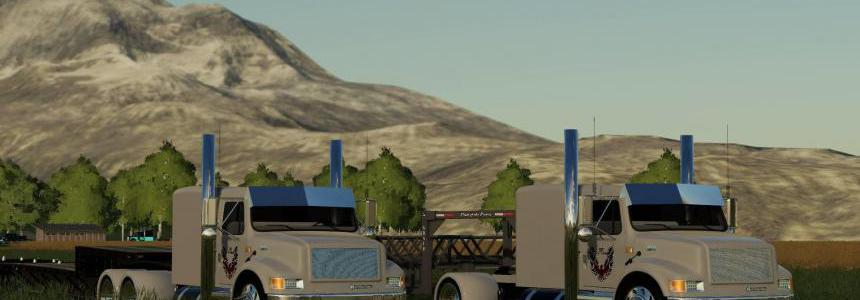 International 4900 street reaper custom Single axle v1.0