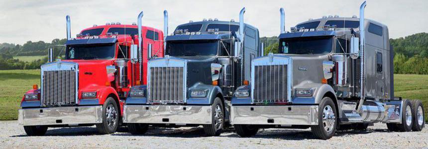 Real Engine Sounds For Scs Kenworth Trucks v7.0