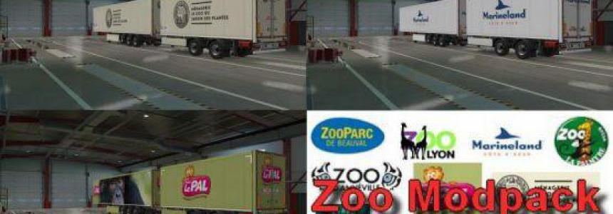 Zoo Trailers Pack v1.0 1.37.x