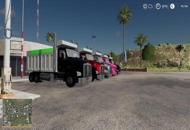 Kenworth t880 dump truck v1.0.0.2