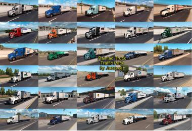 Painted Truck Traffic Pack by Jazzycat v4.0