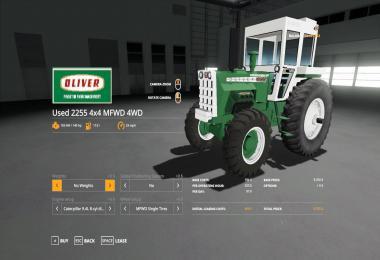 Oliver 2255 MFWD v1.1