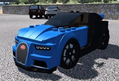 [ATS] Bugatti Chiron Lego Car v1.0 1.37.x