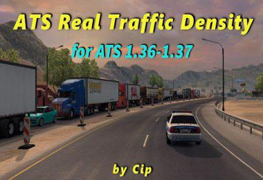 [ATS] Real Traffic Density by Cip v1.37.c
