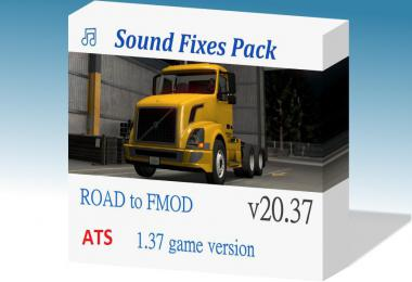 [ATS] Sound Fixes Pack v20.37.2 1.38 OB