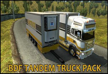 BDF Tandem Truck Pack v137.0 1.37.x