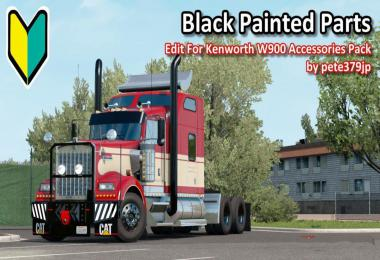 Black Painted Parts Accessories Pack v1.0