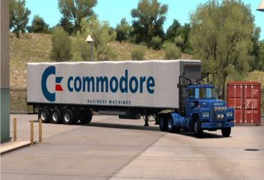 Commodore Skin for Standard Trailers v1.0