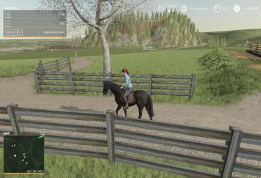 FS19 Black Ranch Fencing v1.0