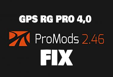 GPS RG PRO v4.0 Promods FIX v2.46