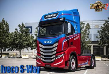 Iveco S-Way 2020 + Interior v2.0 1.37