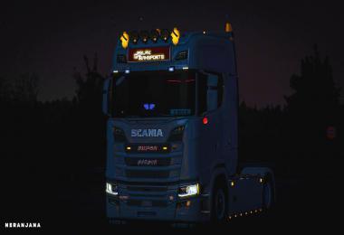LED Truck light 6.1 1.37