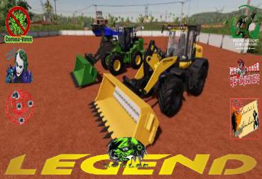 Loader Crusher Bucket TFSG v1.5