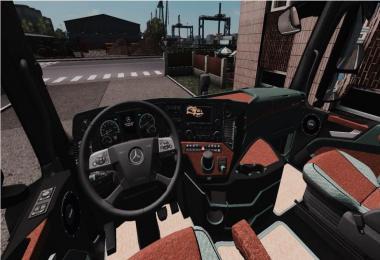 Mercedes Actros MP4 Interior v1.0
