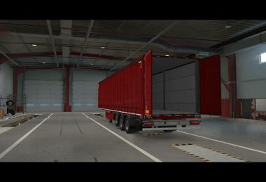 Openable Side Curtain and Back Door (MP-TruckersMP) v1.0