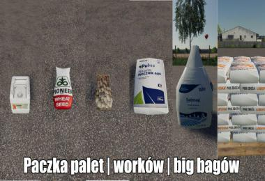 Pack Of Fertilizers and Seeds Big Bag Bags v1.0